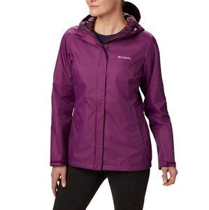 Columbia Arcadia II Hooded Raincoat Jacket
